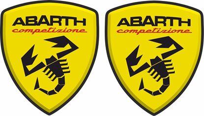 Picture of Fiat Abarth Competizione Decals / Stickers