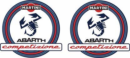 Picture of Fiat Abarth Martini Competizione Decals / Stickers