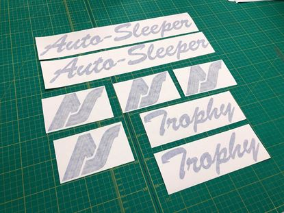 Picture of VW  T4  Trophy Restoration Decals /  Stickers