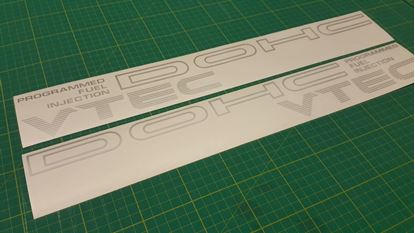 Picture of Honda CRX DOHC VTEC EE8  lower side  Decals / Stickers