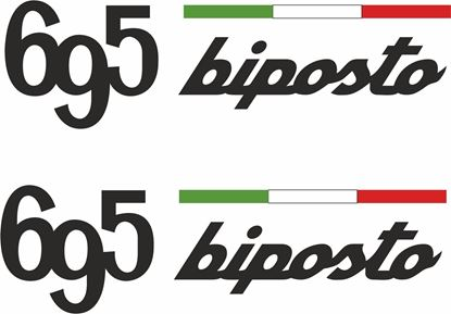 Picture of Fiat  695 Biposto Decals / Stickers