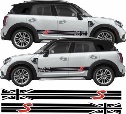 Picture of Mini R60 Countryman Cooper S side Stripes / Stickers