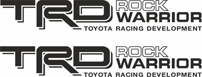 Picture of Toyota TRD Rock Warrior Decals / Stickers