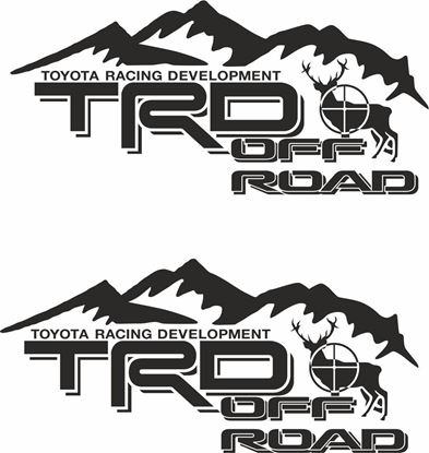 Picture of Toyota TRD Off Road Hunter Decals / Stickers