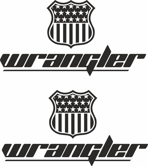 Picture of Jeep Wrangler  Decals / Stickers