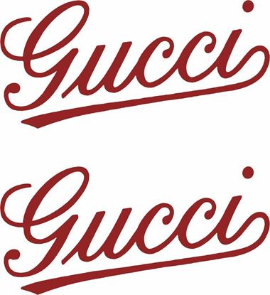 "Picture of Fiat  ""Gucci"" Decals / Stickers"