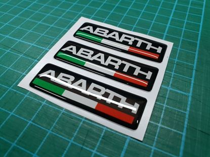 Picture of Fiat  Abarth Badges 55mm