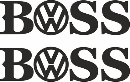 Picture of Boss Decals / Stickers