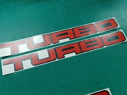 Picture of Nissan Cherry Turbo (choose own size) Decals / Stickers