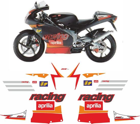 Picture of Aprilia  RS125 2002 Replacement Decals / Stickers