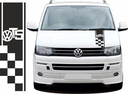 Picture of VW T5 Bonnet Stripe  / Stickers