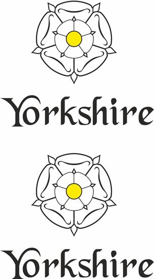 """Picture of """"Yorkshire""""  Panel  / Glass Decal / Sticker"""