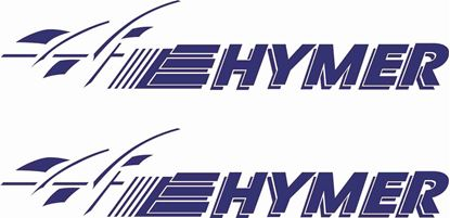 "Picture of ""Hymer""General panel  Decals  / Stickers"