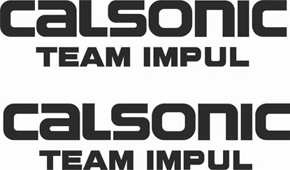 "Picture of ""Calsonic Team Impul"" JDM Decals / Stickers"