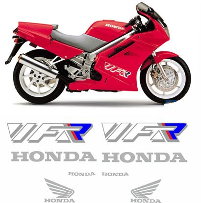 Picture of Honda VFR 750F  1990 - 1992 Replacement Decals / Stickers