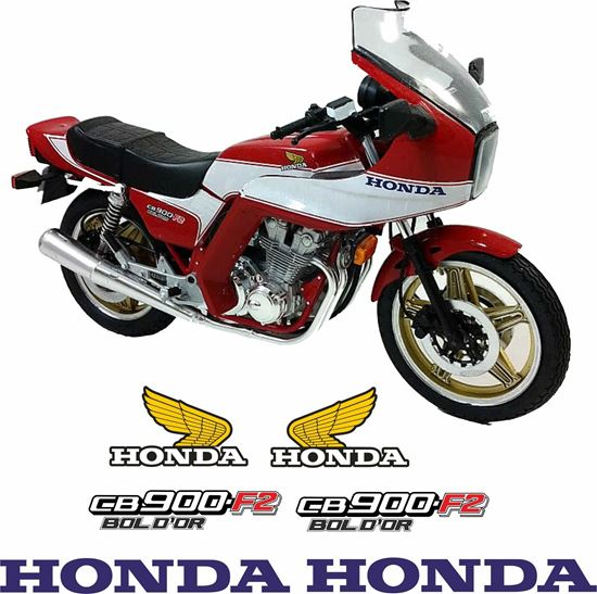 Picture of Honda CB900 F2 1979 - 1982 Replacement Decals / Stickers
