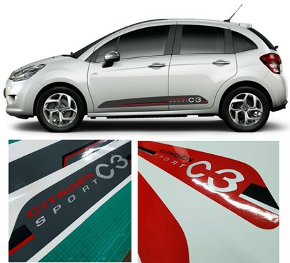 Picture of Citroen C3 Sport Side  Stripes / Stickers