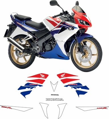Picture of Honda CBR 125R HRC 2009  Replacement Decals / Stickers