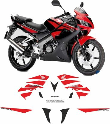 Picture of Honda CBR 125R 2009  Replacement Decals / Stickers