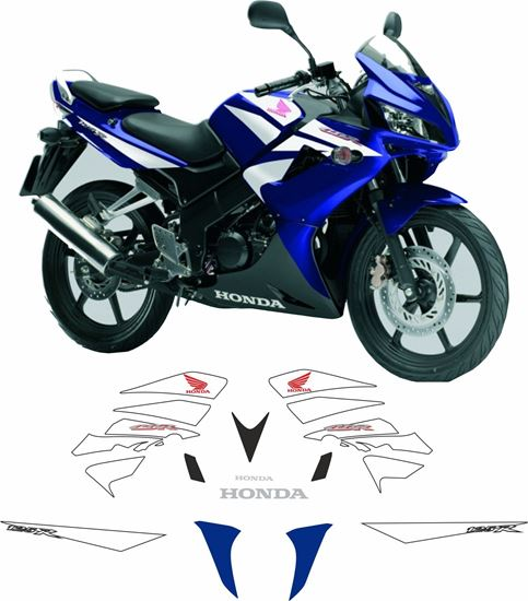 Picture of Honda CBR 125R 2007 -2008  Replacement Decals / Stickers