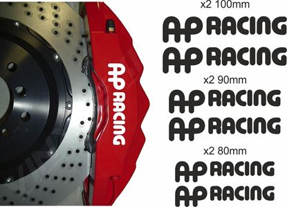 Picture of AP Racing Brake Caliper Decals / Stickers