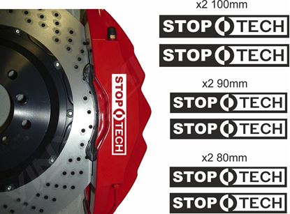 Picture of Stop Tech Brake Caliper Decals / Stickers