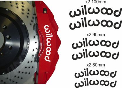 Picture of Willwood Brake Caliper Decals / Stickers