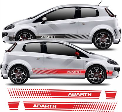 Picture of Fiat Punto Evo Abarth Side Stripes / Stickers