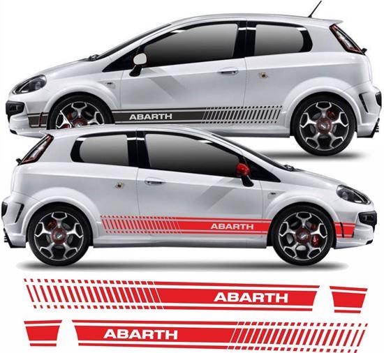 Picture of Fiat Punto Evo Abarth Side Stripes / Stickers
