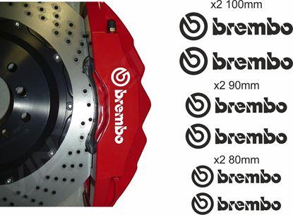 Picture of Brembo  Brake Caliper Decals / Stickers