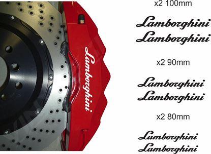 Picture of Lamborghini  Brake Caliper Decals / Stickers