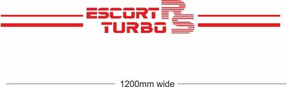 "Picture of ""Escort RS Turbo"" Backflash Screen Sticker / Decal"