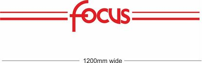 "Picture of Ford  ""Focus"" Backflash Screen Sticker / Decal"