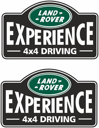 "Picture of ""Land Rover  Experience 4x4 Driving""  Decals / Stickers"