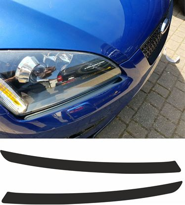 Picture of Ford Focus ST MK2 top Bumper to Headlights pre cut Viny overlays