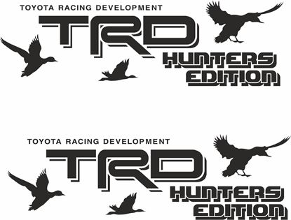 Picture of Toyota Hilux TRD  Hunters Edition side graphics / Stickers