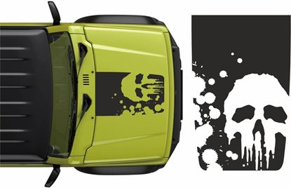 Picture of Jimny Punisher Bonnet Decal / Sticker