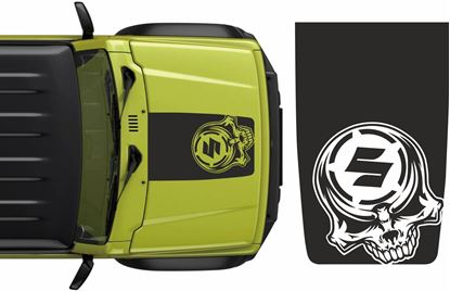 Picture of Jimny Skull  Bonnet  Decal / Sticker