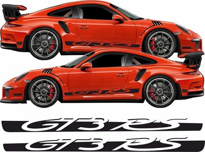 Picture of Porsche 991 GT3 RS side Stripes / Stickers