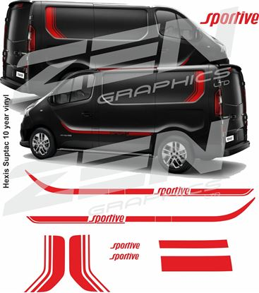 Picture of Vauxhall Vivaro Sportive  Full Graphics kit