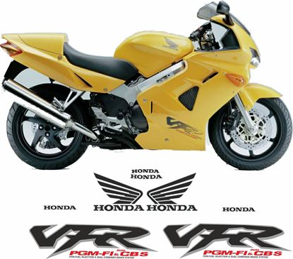Picture of Honda VFR 800i 1998 - 2001 Replacement Decals / Stickers