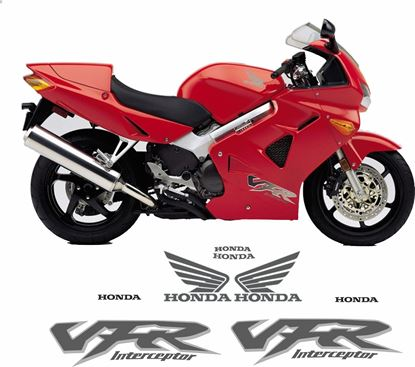 Picture of Honda VFR 800 FI Interceptor 1998 - 2001 Replacement Decals / Stickers -