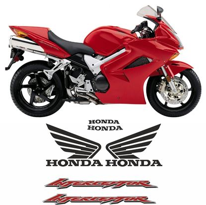 Picture of Honda VFR 800 Vtec Interceptor 2003 Replacement Decals / Stickers