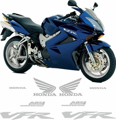 Picture of Honda VFR 800V   2005 - 2006 Replacement Decals / Stickers