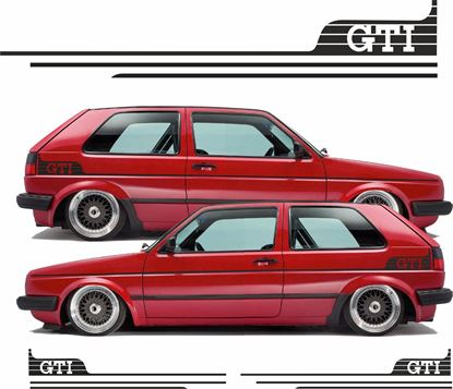 Picture of MK2 Golf GTI Side Stripes  / Stickers