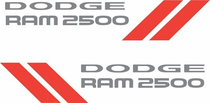 Picture of Dodge Ram 2500 Side Decals / Stickers