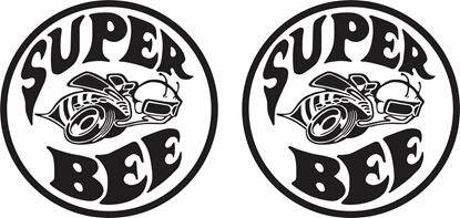 "Picture of Dodge Ram ""Super Bee"" Decals / Stickers"