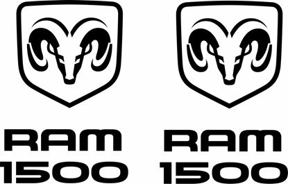 Picture of Dodge Ram 1500 Decals / Stickers