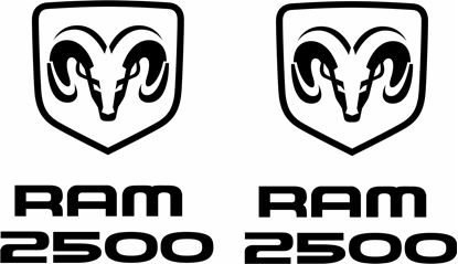 Picture of Dodge Ram 2500  Decals / Stickers