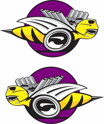 "Picture of Dodge  ""Rumble Bee""  Decals / Stickers"